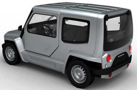 Little 4 vehiculo 100% electrico