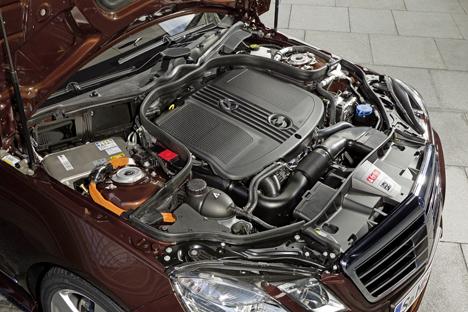 Motor hibrido para el nuevo Clase E de Mercedes