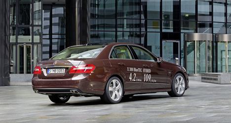 Nuevo E 300 BlueTEC Hybrid de Mercedes