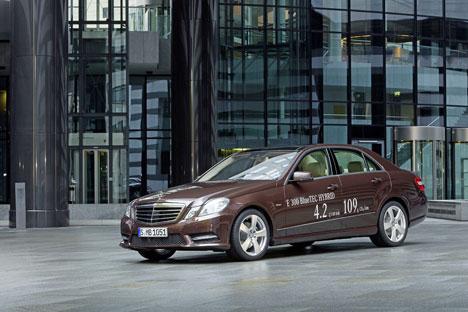 E 300 BlueTEC el nuevo hibrido de Mercedes