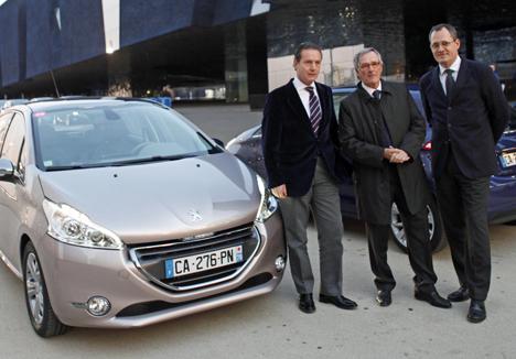 Presentacion del Peugeot 208 en Barcelona