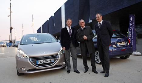Presentacion en Barcelon  del Peugeot 208