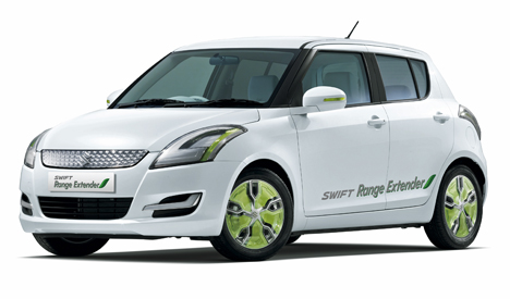 Swift Range Extender, vehiculo hibrido electrico