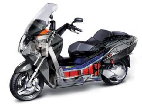 Moto electrica Vectrix VX1