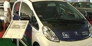 Peugeot en las jornadas del vehiculo electrico en Canarias