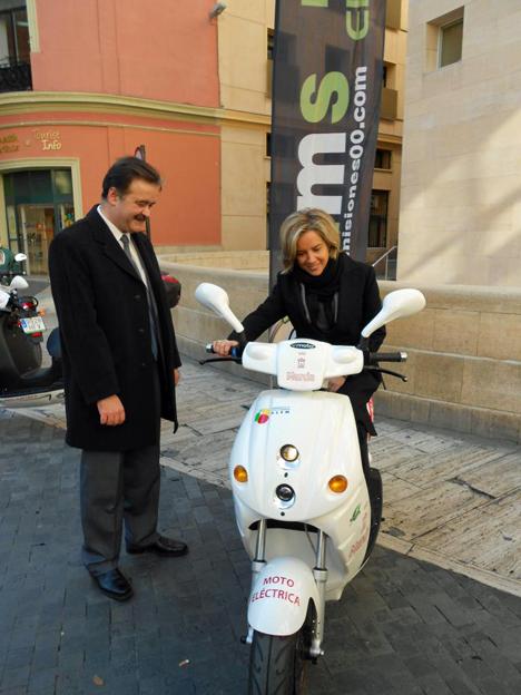 Motos electricas para el Ayuntamiento de Murcia