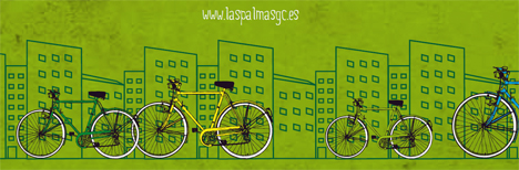 Fiesta de la bici en las Palmas de Gran Canaris