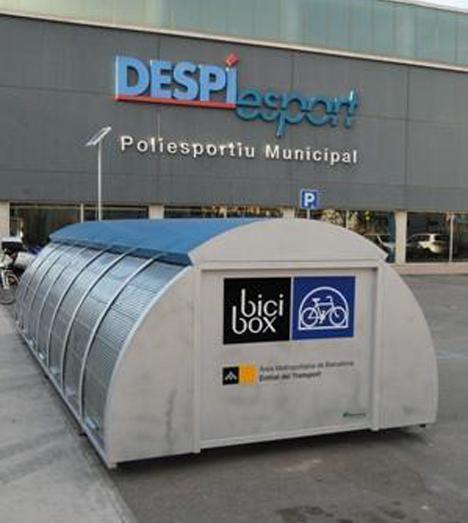 Sistema bicibox, aparcamiento seguro para bicicletas
