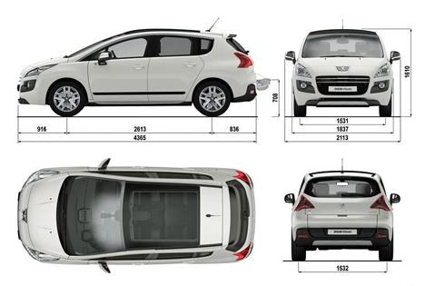 Hibridacion diesel de Peugeot