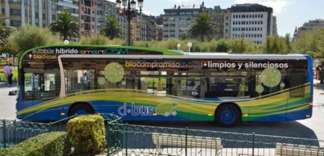 Autobus hibrido de DBus, San Sebastian