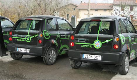 Carsharing electrico. ©Cluster Movilidad y Logística MLC ITS Euskadi