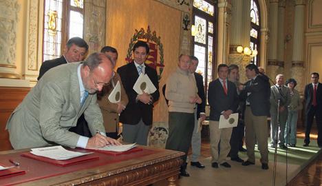 Firma del Acta Fundacional