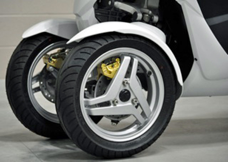 Nueva moto electrica VX-3
