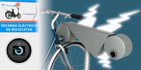 Recarga inteligente de bicicletas eléctricas
