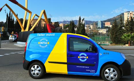 Vehículo de asistencia eléctrico de la Mutua Madrileña