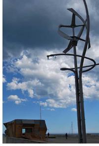 Aerogenerador de Urban Green Energy