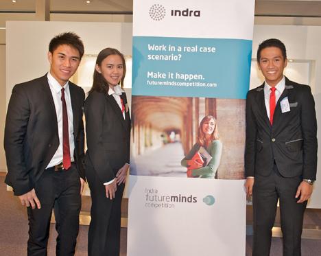 Ganadores de la segunda edición de la Indra Future Minds Competition
