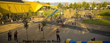 Plaza Ecópolis de Rivas. Foto: Ayto. Rivas