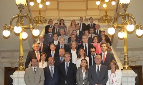 Alcaldes y concejales de los municipios que integran RECI