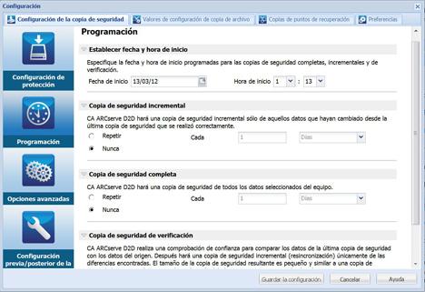 Protección de datos de CA Technologies