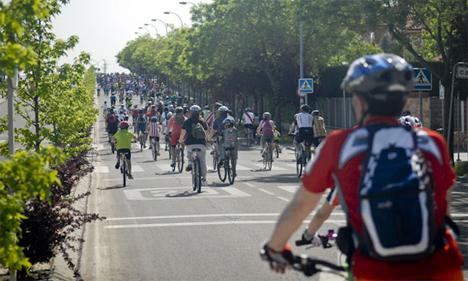 Día de la Bicicleta en Rivas