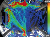 Mapa de calor del sistema de análisis de video MxAnalytics