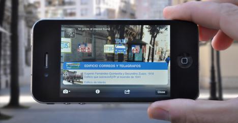 Aplicación para teléfonos inteligentes de SmartSantander