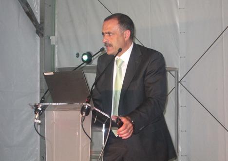 Francisco Romero, Energy Bussiness Development Director de Telvent-Scheneider Electric.