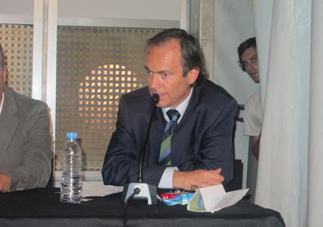 Jaime Briales, de la Agencia de la Energía del Ayuntamiento de Málaga.