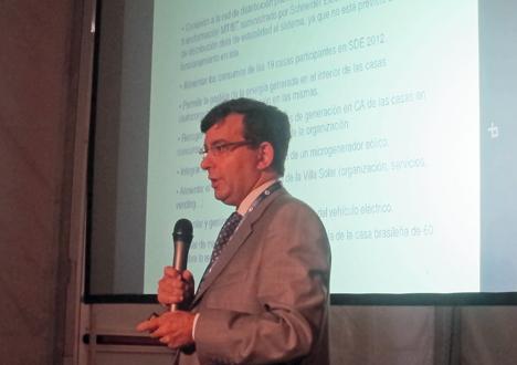 José Miguel Solans, Innovation & Training Director de Schneider Electric