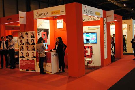 Stand de Red.es en SIMO Network 2012