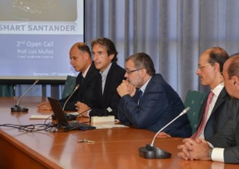 Presentación de la II Convocatoria Open Calls en Santander.