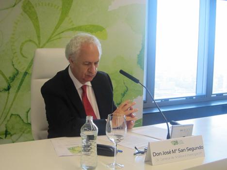 José María San Segundo, Director General de Análisis e Investigación.
