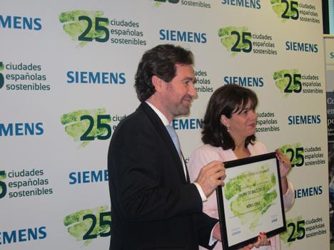 Palma de Mallorca recibe el premio en movilidad y calidad del aire.