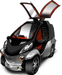 Prototipo del Toyota Smart Insect.