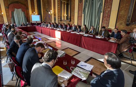 Comité RECI para puesta en común de proyectos.