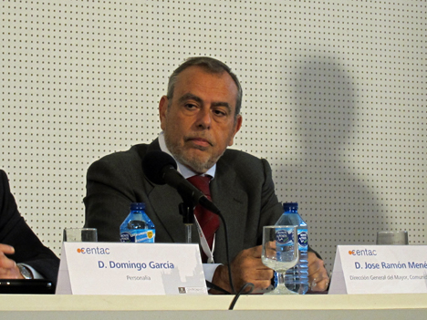 José Ramón Menéndez Aquino, Director General del Mayor de la Comunidad de Madrid.
