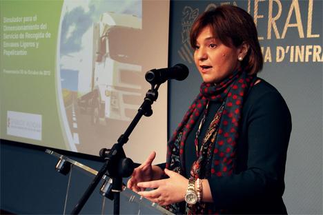 Isabel Boing, Consellera de Infraestructuras, Territorio y Medio Ambiente de Valencia.