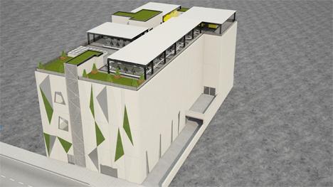Data Center que Interxion está construyendo en el Silicon Alley Madrid.
