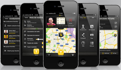 App myTaxi