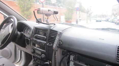 Coche patrulla del municipio de Calonge.