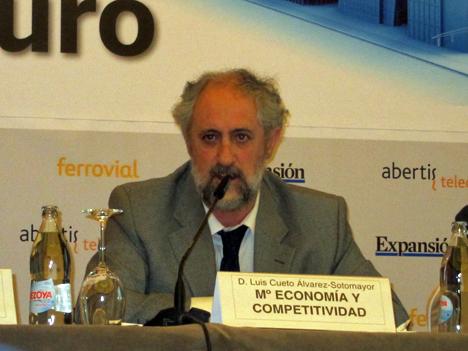Luis Cueto, subdirector General de Fomento de la Innovación Empresarial del Ministerio de Economía y Competitividad.