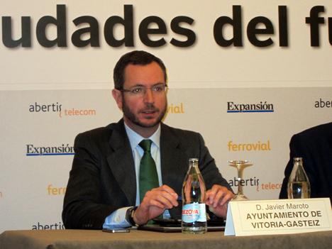 Javier Maroto, Alcalde de Vitoria-Gasteiz.