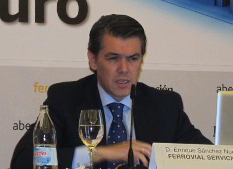 Enrique Sánchez, Director de Ciudades de Ferrovial Servicios.
