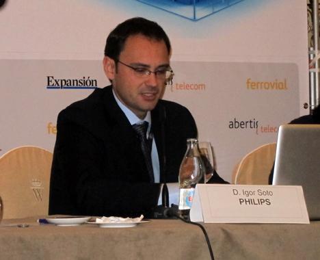 Igor Soto, Gerente de Desarrollo de Negocio de Alumbrado Urbano de Philips