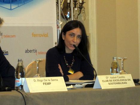 Isabel Castillo, Directora del Club de Excelencia en Sostenibilidad.