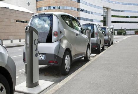Vehículos eléctricos en Francia.