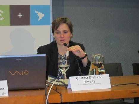 Cristina Díaz Van Swaay, Adjunta a la Dirección General de la Asociación Española de Cogeneración (ACOGEN).