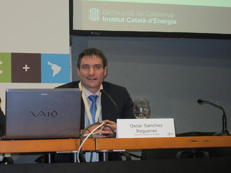 Óscar Sáchez, Jefe de Programa de Desarrollo Empresarial del Instituto Catalán de Energía (ICAEN).