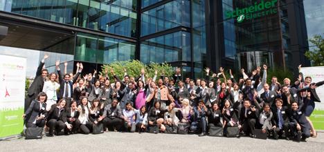 Participantes del concurso Go Green in de City de pasadas ediciones.